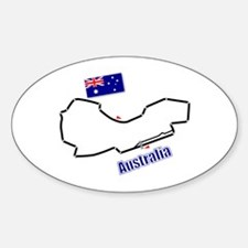 Albert Park, Australia Oval Decal