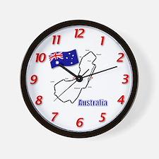 Albert Park, Australia Wall Clock