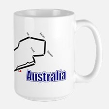 Albert Park, Australia Large Mug