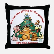 It's The Loving Throw Pillow