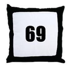 Cute 69 sex Throw Pillow