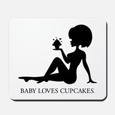 Baby Loves Cupcakes, Mousepad