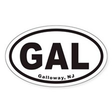 Galloway GAL Euro Oval Decal