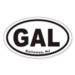 Galloway GAL Euro Oval Sticker
