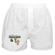 My Daughter Wears Combat Boot Boxer Shorts