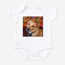 Labrador Retriever-Yellow Infant Bodysuit