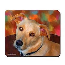 Labrador Retriever-Yellow Mousepad
