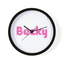 """""""Becky"""" Wall Clock"""