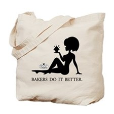 Bakers do it better, Tote Bag