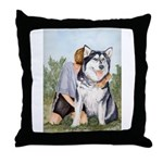 Throw Pillow Alaskan Malamute