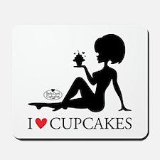 I Love Cupcakes, Mousepad