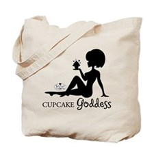 Cupcake Goddess, Tote Bag