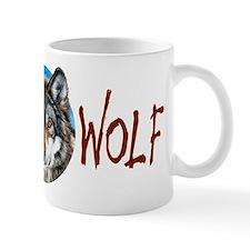 Painted Wolf Mug