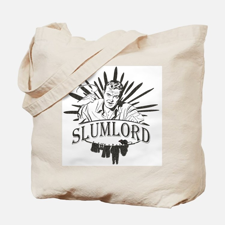 Vintage Slum Lord Tote Bag