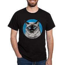 Penciled Siamese Portrait T-Shirt