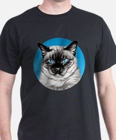 Penciled Siamese Portrait T-Shirt