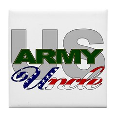 United States Army Uncle Tile Coaster