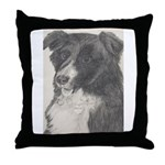 Throw Pillow Border Collie