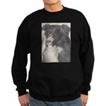 Sweatshirt (dark) Border Collie