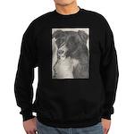 Sweatshirt (dark) Border Collie