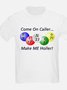 Come on Caller! Bingo! Kids T-Shirt