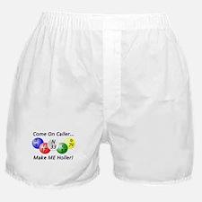 Come on Caller! Bingo! Boxer Shorts