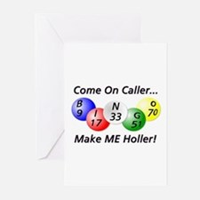 Come on Caller! Bingo! Greeting Cards (Package of