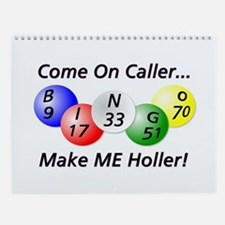 Come on Caller! Bingo! Wall Calendar