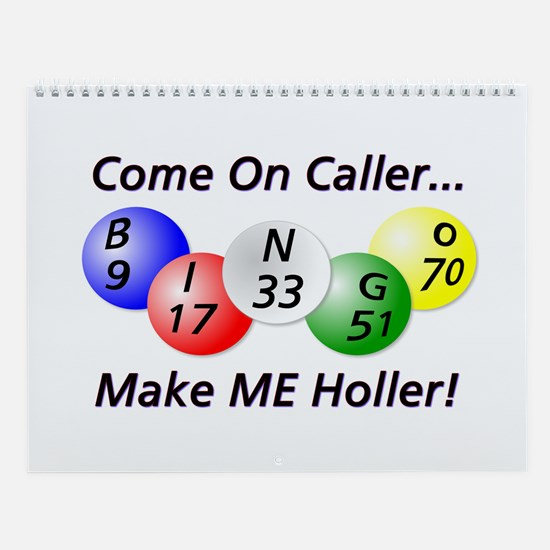 Come on Caller! Bingo! Wall Calendar