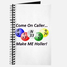 Come on Caller! Bingo! Journal