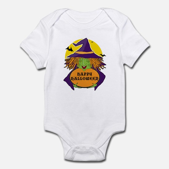 Witch and Cauldron Infant Bodysuit