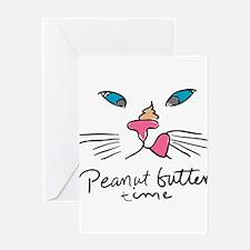 Funny Persian kitty Greeting Card