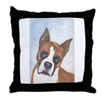 Throw Pillow Boxer