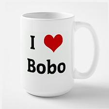 I Love Bobo Large Mug