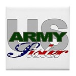 United States Army Sister Tile Coaster