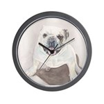 Wall Clock Bull dog