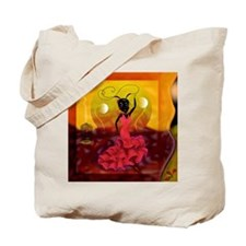 Passion and Flamenco Tote Bag
