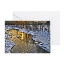 Vermont River 5x7 Greeting Card