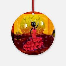 Passion and Flamenco Ornament (Round)