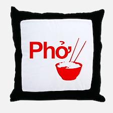 Unique Pho Throw Pillow