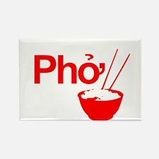 Cute Vietnamese Rectangle Magnet