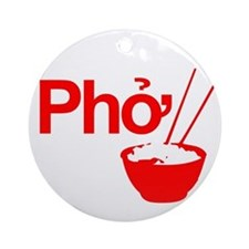 Cute Pho Ornament (Round)