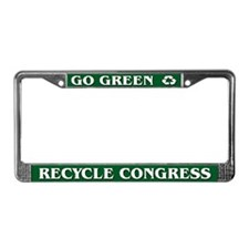 Recycle Congress - License Plate Frame