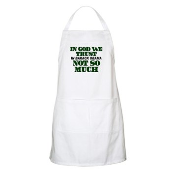 In God We Trust BBQ Apron