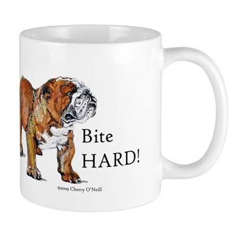 Bulldogs Life Motto Mug