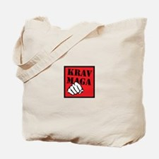 Krav Maga with Fist Tote Bag