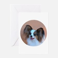 Sable Papillon Head Greeting Cards (Pk of 10)
