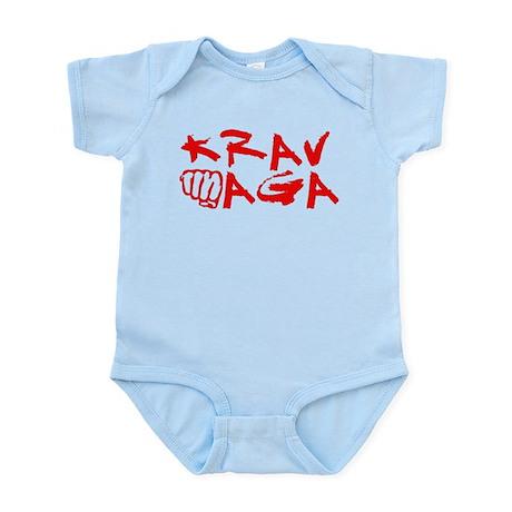 Krav Maga Red Infant Bodysuit