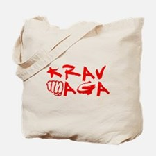 Krav Maga Red Tote Bag