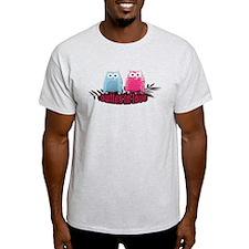 Owlies in Love - T-Shirt